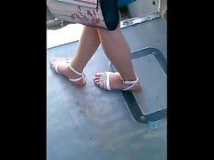 Pieds frisés en sandales avec pied actif CAM06409,10 HD