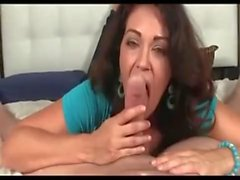 Amateur pov blowjob from mature danish