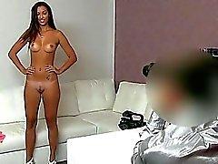 Snella Katka vagina scopa e si creampied