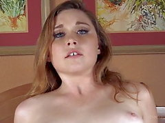 Redhead Teen Nurse Anal and Creampie by Big Black Cock