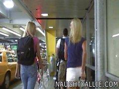 Naughty Allie - Remplacement de limousine d'échange de sperme