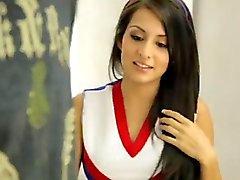 Американский Симпатичные Cheerleader
