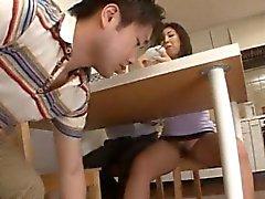 Mamá Trámite japonesa con los Sin de Panty