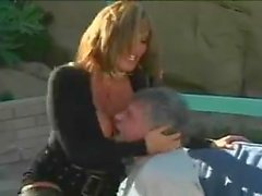 dirty slut ava devine gets a deep double dicking outside