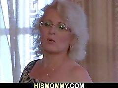 De maman des lesbiennes Horny veut manger des la chatte