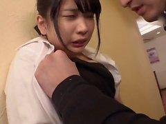 Küçük Asya orospu azgın Japon adamlarla grup seks