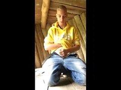 Danimarka Blond Gay Boy (Kasper) & Doğa İçinde Benim Cock ile Oynama (Shelters)