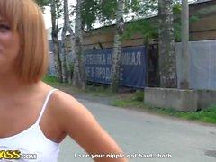 Russo rossa pubblico di pick up