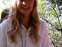 Lovely teens in camp gets so horny and very naughty