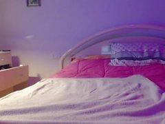 Milf auto punho na webcam show