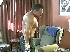 Musculaire Gaystraight assfingered amateurs