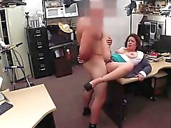 Milf creampie pov reality MILF sells her husband's stuff for