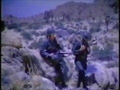 Vintage Masturbação Militar Gay Mutual