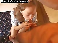 Teen daughter destruction