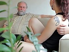 Ilona and her sexy lover are having a great time, and he is