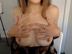 Kotitekoinen amatööri webcam teini slut dancin