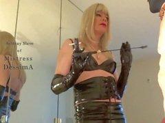 Ashtray slave of mistress DessimA (MissDess)