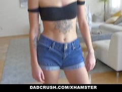 DadCrush - Fucking My Step Daughter And Her Bestfriend