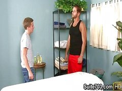 Lucas Knowles and Tucker Vaughn 69 massage