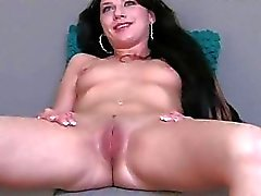 Hawt sextoy play before raucous pussy drilling