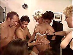 Wedding orgia