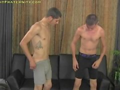 Two Young Guys In A Masturbation Session On Cam (Sex For Money)
