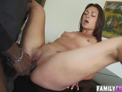 Sexy Olivia Wilder loves a huge black cock to fuck