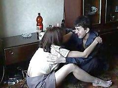 Fratello e una sorella ubriaca casalinga Incesto