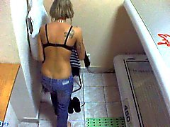 Voyeur Webcam Boy nudo in solarium part35