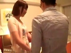 Güzel Japon genç ona sıkı Asya p mastürbasyon