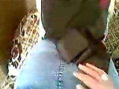 Arabian college girl in hijab