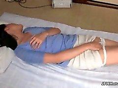 kiimaiset Aasialaiset aikuinen nainen aivoveritulppia hänet hairy nilkki