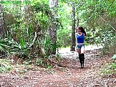 para a floresta
