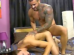 Sexy gay Jacobey London was aching for a stiff porking and B
