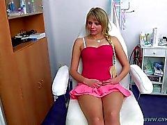 Marcy allé à son gynécologue pour le gyno examens