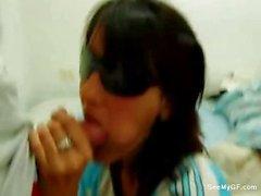 Argentinischen eine Freundin geben Blasen daheim