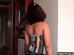 Филипина CHEA Облизывание и сосет Туристическая Дика