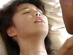 nuorten JAP girl otetaan puiston muukalainen