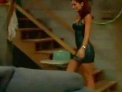 Die Latex Maid Luder TV Show Scheiss Transvestitenschweine wegpressen