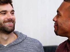 Big Dick Homosexuell Flip Flop und Gesichtsbehandlung