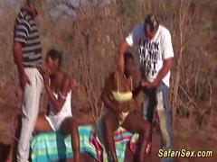 afrikansk safari sex orgie i naturen segmentet