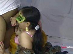 Любительская индийская пара Горячий секс