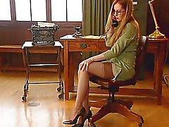 Офисная девушки четыре