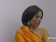 HornyLily bröllop night Hindi POV rollspel