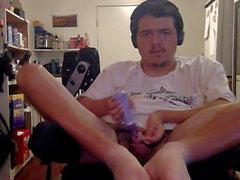 Vários loucos orgasmos intensos em minha cadeira de rodas