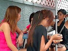 Asie du Candy Shop Les Les filles