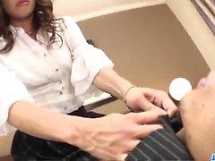 Hård kontors sex samt elak Japan pudding så Aya Sakurabas