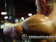 Joey Салливана и Марвин Tilliere : Олимпия 2015 уикэнд тренировка