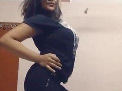 SUPERBUSTY DESI kızının KAYA karşıtı dans filmi kız