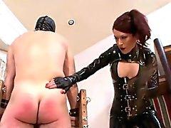 Misstress la tortura dispone de un bastón
